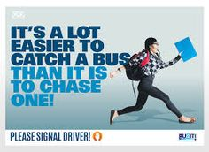 Chase the bus bus campaign