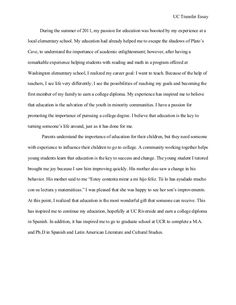 College Transfer Essay Examples That Can Teach You How To Write