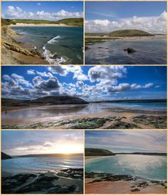 More images of Daymer Bay, Cornwall.