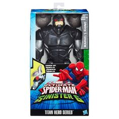 MARVEL/'S RHINO ACTION FIGURES 15 CM MARVEL SPIDER MAN WEB-WARRIORS PERSONAGGIO
