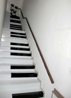 Decorating ideas for stairs and hallways stair decor ideas to make your hallway look amazing decorating . decorating ideas for stairs and hallways Painted Staircases, Painted Stairs, Funky Home Decor, Diy Home Decor, Room Decor, House Stairs, Carpet Stairs, Piano Stairs, Basement Stairs