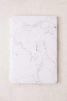 White Marble Vinyl MacBook Pro Skin