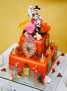 NM style wedding cake! #cake #design #ideas #wedding #bridal