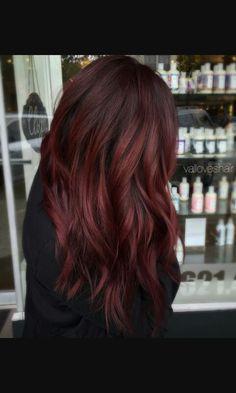 couleurs coiffures beaux cheveux couleur cheveux tresses cheveux bourgogne avec des reflets cheveux rouges bordeaux cheveux roux brun fonc - Coloration Bordeaux Fonc