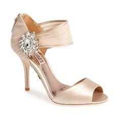Women's Badgley Mischka 'Gayla' Peep Toe Sandal