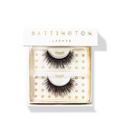 BATTINGTON LASHES Bardot Lashes | @violetgrey