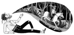 Carson Ellis illustration from Wildwood.
