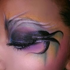 Ursula makeup by sierra rockett!!