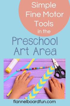 Click for preschool art tips and simple, fun ideas from a veteran teacher.