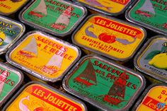Telmo sardine label minature food drink pinterest emballage vint - Vieilles boites en fer ...