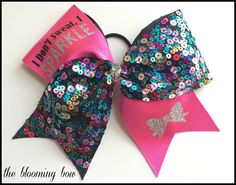 Cheer Bow by TheBloomingBow on Etsy, $12.50