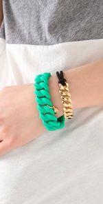 MBMJ Chunky Gold Bracelet
