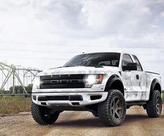God i love big trucks Ford Raptor Ac
