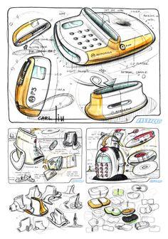 IDMD - Ideation sketches by: Carl Liu