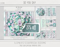 New Release: So You Say by Ilonka's Scrapbook Designs! Now on a 25% off Sale. DigitalCrea; http://digital-crea.fr/shop/index.php?main_page=advanced_search_result&search_in_description=1&zenid=65ef9811c5549abf5a2797a0fc16ac53&keyword=So+You+Say. 11/16/2015
