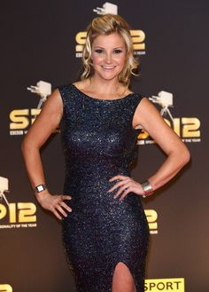 Helen Skelton Photos Photos - Presenter Helen Skelton attends the BBC Sports Personality of the Year Awards at ExCeL on December 2012 in London, England. - BBC Sports Personality Of The Year - Arrivals Helen Skelton, Sports Personality, Bbc, Awards, Formal Dresses, London England, December, Photos, Women