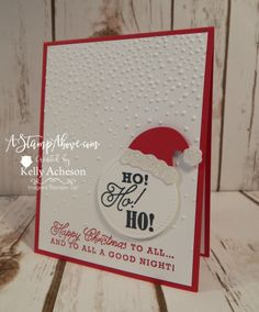 Jolly hat builder punch card