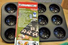 Soccer Ball Cupcake pan