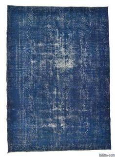 Overdyed Anatolian Vintage Rug