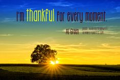 Thankful Quotes | Thankful Quotes with sunset picture - Inspirational Quotes about Life ...