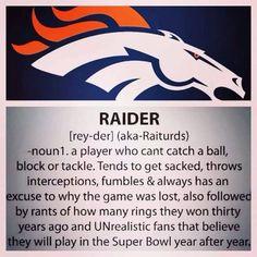 Raider Definition haha
