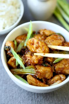 Quick Mongolian chicken recipe that's sweet & savory. A healthier alternative to the classic Mongolian beef preparation with ingredients that pack a punch!