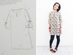 Tunic-dress-sewing-pattern-Thumbnail More