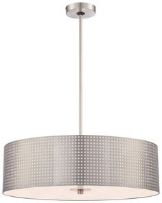 View the Kovacs P5745-084 4 Light Pendant from the Grid Collection at LightingDirect.com.