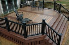 Small Deck Ideas - Decorating Porch Design On A Budget Space Saving DIY Backyard… - deck ideas Patio Plan, Deck Plans, Deck Design Plans, Veranda Design, Patio Grande, Deck Pictures, Cozy Backyard, Backyard Patio Designs, Deck Landscaping