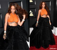 Grammy 2017: Rihanna - Fashionismo