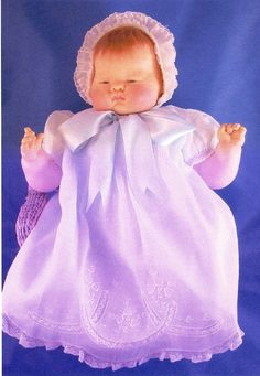 "In the early 1960s, Eloise Wilkin successfully designed & marketed, via the Vogue Doll Company, a new-born infant doll about which the popular Little Golden Book, ""Baby Dear,"" was later written. Wilkin used her daughter, Deborah & grandson, David as models for the mother & baby in the book. The realistic style of the Baby Dear doll revolutionized the doll industry at the time, encouraging more realistic baby dolls. Reportedly, former Soviet Premier"