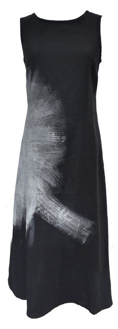 Woolloongabba - this design seems to bewitch most people interested in putting this unique touch to a basic black dress. Always thinking I should try it ... one day I will take a big brush and textile paint.