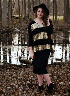 """Shesclothedinglory.com {Clothed in Glory} ●Modest Fashion and Lifestyle Inspiration● """"Sweaters & Sequins"""" ● Apostolic Style Icon ● Glory Couture Magazine"""