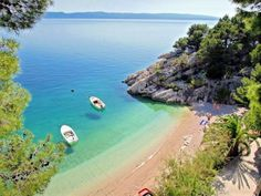 8 beautiful beaches in Croatia - Reise - Holiday Costa, Riviera Beach, Holiday Places, Travel Magazines, Most Beautiful Beaches, Beautiful Places, Croatia Travel, Camping Life, Beach Holiday