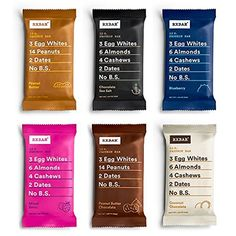 RXBAR Whole Food Protein Bar, Variety Pack, All Flavors (...