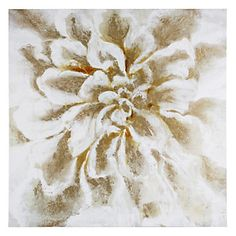 Single White Flower   Nature-botanical   Art-themes   Art   Z Gallerie