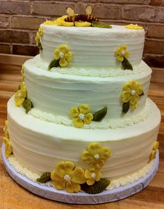 Marzipan flowers and Bees