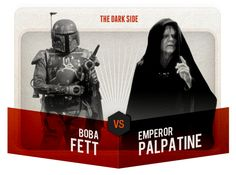 This is Madness - Boba Fett vs. Emperor Palpatine - VOTE @ http://starwars.com/this-is-madness/index.html