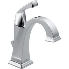 Delta - Dryden Single Hole 1-Handle High-Arc Bathroom Faucet in Chrome - 551-DST - Home Depot Canada