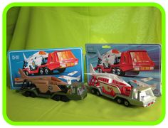 K114 BattleKings Aircraft Transporter (wrong box) & K13 Aircraft Transporter (Silver)