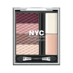 Nyc Individual Eyes Midtown Mauve #Belleza #Maquillaje #MakeUp #NYC #Sombra #Mujer #Dama