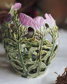 Slab Pottery, Ceramic Pottery, Pottery Art, Sculptures Céramiques, Pottery Techniques, Pottery Classes, Pottery Sculpture, Vase, Pottery Designs