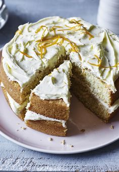 An easy orange cake with orange buttercream is sure to please mum on Mother's Day.
