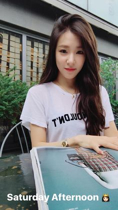 A lovely Saturday with SNSD Tiffany!