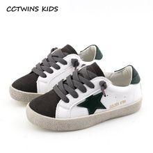 CCTWINS CRIANÇAS 2018 Crianças Primavera Estrela Da Moda Sapato de Bebê Da  Marca Menino Sneaker Menina 1b07a4788b