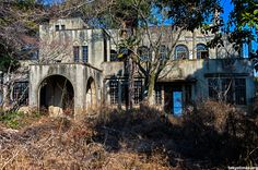 Abandoned house near Tokyo. Built out of concrete way back in 1928, the house would have almost certainly been something special even if just a modest home, but due to its sprawling nature and opulence, it must have been more akin to a modern marvel. Elements that even now, almost a century later and with the building in semi-ruins, are still very striking.