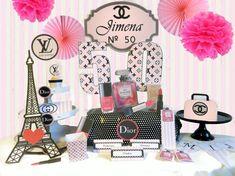 Mira este artículo en mi tienda de Etsy: https://www.etsy.com/es/listing/221308295/decoracion-fiesta-fashion-kit-imprimible