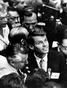 Robert Kennedy at the DNC for big brother, John. #1960
