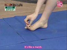 Que hermosa es Taeyeon, hasta sus piesitos son hermosos