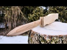 (1) How To Make A Wooden OTF Switchblade - YouTube